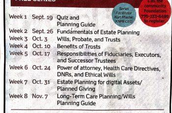 2018 Family Estate Planning Series